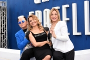 Foto/IPP/Gioia Botteghi 16/04/2018 Roma, Presentazione della15 edizione del Ggrande Faratello, nella foto: Barbara d'Urso affiancata da Simona Izzo e Cristiano Malgioglio  Italy Photo Press - World Copyright
