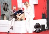 Foto/IPP/Gioia Botteghi Roma07/01/2020 Grande fratello Vip, presentazione, nella foto: Alfonso Signorini ed Enzo Ghinazzi, Pupo, Wanda Nara  Italy Photo Press - World Copyright