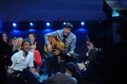 Roma 15/11/09 seconda puntata di GRAZIE A TUTTI, nella foto Gianni Morandi