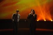 Roma 15/11/09 seconda puntata di GRAZIE A TUTTI, nella foto Gianni Morandi e Zero