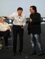 Roma 15/11/09 seconda puntata di GRAZIE A TUTTI, nella foto Gianni Morandi e Al Bano