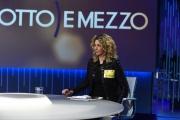 Foto/IPP/Gioia Botteghi 15/02/2018 Roma, puntata di otto e mezzo con Lilly Gruber e Barbara Lezzi con la lista dei bonifici bancari dei 5 stelle Italy Photo Press - World Copyright