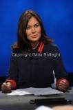 21/09/2014 Romail Lucia Annunziata ospita Sabina Guzzanti nella trasmissione in mezz'ora su raitre