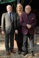 Gioia Botteghi OMEGA 2/02/07 presentazione del film ANNIBAL LECTER nelle foto:  i produttori Dino De Laurentis con sua moglie Martha e  il figlio Aurelio