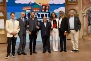 Foto/IPP/Gioia Botteghi 16/10/2018 Roma, presentazione de I fatti vostri, rai due, nella foto : tutto il cast 2018-19  Italy Photo Press - World Copyright