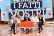 08/09/2016 Roma presentazione della nuova stagione de, I FATTI VOSTRI, nella foto: Adriana Volpe, Giancarlo Magalli, Marcello Cirillo, Paolo Fox e demo Morselli
