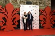 14/10/2016 Firenze presentazione della fiction di rai uno I Medici, red carpet, nella foto Antonio Campo Dall'Orto e Monica Maggioni