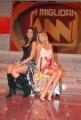 12/01/08 prima puntata del programma di raiuno I MIGLIORI ANNI condotto da Carlo Conti, nelle foto Maria Elena Bandone, Pamela Camassa