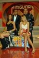 12/01/08 prima puntata del programma di raiuno I MIGLIORI ANNI condotto da Carlo Conti, nelle foto Nino Frassica, Maria Elena Bandone, Pamela Camassa