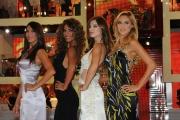 Roma 18/09/2009 trasmissione I migliori anni , nella foto le 4 ragazze: Sara Facciolini, Roberta Morise, Elena Ossola, Angela Tuccia