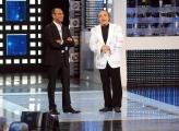 """Roma, 17 settembre 2010, Rai: presentazione de """"I migliori anni"""" in onda su Raiuno in prima serata il venerdì sera . Conduce Carlo Conti con la partecipazione di Nino Frassica"""