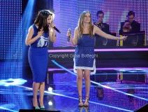 19/01/2013 Roma trasmissione rai I MIGLIORI ANNI, nella foto: Paola e Chiara