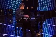 19/01/2013 Roma trasmissione rai I MIGLIORI ANNI, nella foto: Keith Emerson