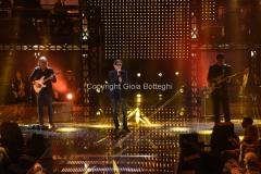 29/04/2016 Roma prima puntata della trasmissione I MIGLIORI ANNI, nella foto gli Stadio
