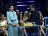 28/04/2017 Roma Prima puntata de I MIGLIORI ANNI, rai uno, nella foto: Carlo Conti ed Anna Tatangelo
