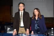 24/02/2017 Roma presentazione della trasmissione del tg2 Dossier, I MIGRANTI, nella foto :Ida Colucci – Direttore TG2 Paolo Ruffini – Direttore TV2000