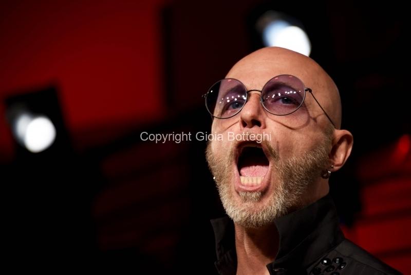 Foto/IPP/Gioia Botteghi Roma 27/05/2019 concerto su radioduelive de I Negrita, nella foto : Paolo Bruni, Italy Photo Press - World Copyright