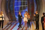 6/03/09 Roma prima puntata de I RACCOMANDATI nella foto Elisabetta Gregoraci , balla per la cugina Maria Boemi