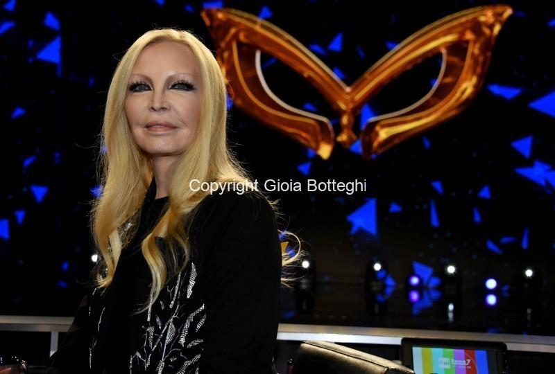 Foto/IPP/Gioia BotteghiRoma 10/01/2019 nuovo programma di Rai uno Il cantante mascherato, nella foto , Patty Pravo nella giuriaItaly Photo Press - World Copyright