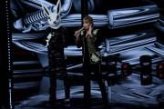 Foto/IPP/Gioia BotteghiRoma 10/01/2019 nuovo programma di Rai uno Il cantante mascherato, nella foto , il coniglio con Milly CalucciItaly Photo Press - World Copyright