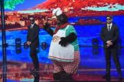 Foto/IPP/Gioia BotteghiRoma 10/01/2019 nuovo programma di Rai uno Il cantante mascherato, nella foto , il mastinoItaly Photo Press - World Copyright