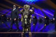 Foto/IPP/Gioia BotteghiRoma 10/01/2019 nuovo programma di Rai uno Il cantante mascherato, nella foto , il leone Italy Photo Press - World Copyright