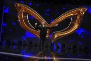 Foto/IPP/Gioia Botteghi Roma 08/01/2019 Presentazione del nuovo programma di Rai uno Il cantante mascherato, nella foto, la conduttrice Milly Carlucci Italy Photo Press - World Copyright