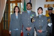6 puntate del film Il Comandante Selvaggia Quattrini a sinistra e Gabriella Pession Alessandro Preziosi