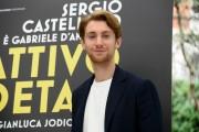 Foto/IPP/Gioia BotteghiRoma 18/05/2021 Photocall del film Il cattivo poeta, nella foto:  Francesco PatanèItaly Photo Press - World Copyright