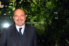 4/09/2012 Roma presentazione della fiction di raiuno , IL COMMISSARIO NARDONE, nella foto: Luigi Di Fiore