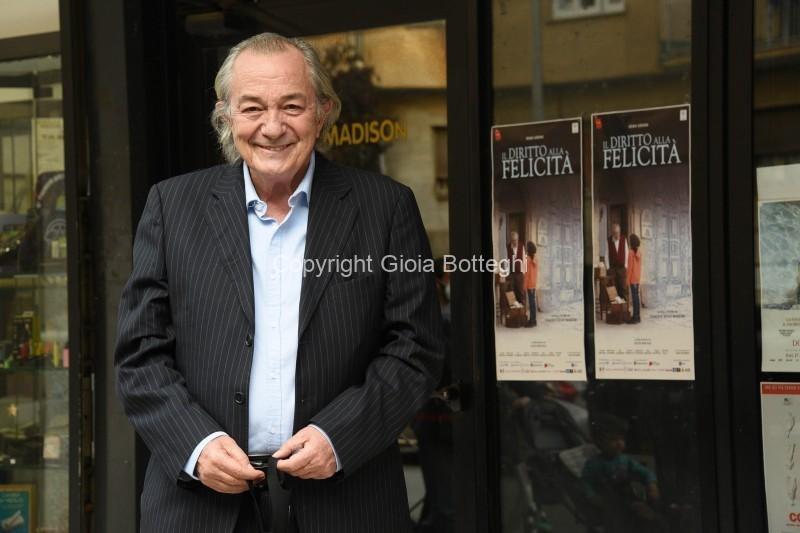 Foto/IPP/Gioia Botteghi Roma 30/04/2021 Photocall del film Il diritto alla felicità, nella foto:  Remo Girone, Italy Photo Press - World Copyright