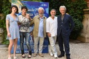 Foto/IPP/Gioia Botteghi Roma 14/06/2019 Presentazione del film Il flauto magico di piazza Vittorio, nella foto: Violetta Zironi, Mario Tronco e Gianfranco Cabiddu, Petra Magoni,  Italy Photo Press - World Copyright