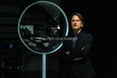 15/03/2013 Roma Trasmissione di rai tre il giallo e il nero, nella foto il conduttore Cesare Bocci