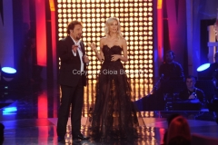 28/02/2014 Roma prima puntata della trasmissione di rai uno il meglio d_Italia, nella foto Enrico Brignano e Liz Solari