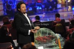 28/02/2014 Roma prima puntata della trasmissione di rai uno il meglio d_Italia, nella foto Enrico Brignano