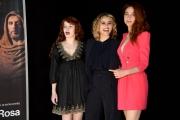 Foto/IPP/Gioia Botteghi Roma28/02/2019 presentazione della serie tv Il nome della rosa, nella foto: Greta Scarano, Antonia Fotaras, Camilla Diana Italy Photo Press - World Copyright