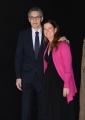 Foto/IPP/Gioia Botteghi Roma28/02/2019 presentazione della serie tv Il nome della rosa, nella foto:  John Turturro con la direttrice di rai uno Teresa De Santis Italy Photo Press - World Copyright
