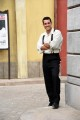 Foto/IPP/Gioia Botteghi Roma 19/09/2019 visita sul set de Il paradiso delle signore, rai uno, nella foto : Emmanuel Caserio Italy Photo Press - World Copyright