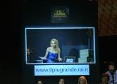Roma 20/01/2010 Prima puntata de IL PIU GRANDE, nella foto Alessandra Barzaghi