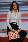 27/02/2015 Roma La conduttrice Rebecca Vespa, presenta la nuova tramissione di rai tre IL POSTO GIUSTO, in onda per 13 puntate a partire da domenica alle ore 13,00