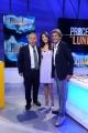 16/09/2013 Roma il processo del lunedi, nelle foto: Enrico Varriale e Elisa Sergi, Gianni Ippoliti