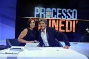 16/09/2013 Roma il processo del lunedi, nelle foto: Gianni Ippoliti e Giovanna Carolli