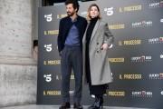 Foto/IPP/Gioia Botteghi Roma22/11/2019 presentazione della fiction di canale 5 IL PROCESSO, nella foto: Vittoria Puccini, Francesco Scianna,  Italy Photo Press - World Copyright