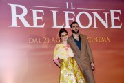 Foto/IPP/Gioia Botteghi Roma 12/07/2019 Photocall del film Il re leone , nella foto Marco Mengoni ed Elisa doppiatori dei leoni protagonisti Italy Photo Press - World Copyright