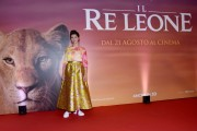 Foto/IPP/Gioia Botteghi Roma 12/07/2019 Photocall del film Il re leone , nella foto la cantante Elisa che da la voce alla leonessa protagonista Italy Photo Press - World Copyright