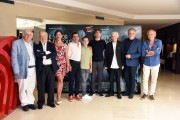 Foto/IPP/Gioia Botteghi Roma 22/07/2019 Photocall del film Il signor Diavolo , nella foto il produttore Antonio Avati ed il fratello regista Pupi Avati con una parte del cast Italy Photo Press - World Copyright