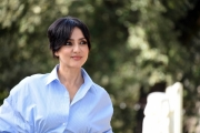 Foto/IPP/Gioia Botteghi Roma 06/03/2019 Presentazione della fiction di canale 5 Il silenzio dell'acqua, nella foto:   Ambra Angiolini Italy Photo Press - World Copyright