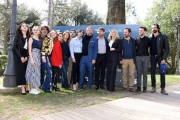 Foto/IPP/Gioia Botteghi Roma 06/03/2019 Presentazione della fiction di canale 5 Il silenzio dell'acqua, nella foto: il regista Pier Belloni con tutto il cast Italy Photo Press - World Copyright