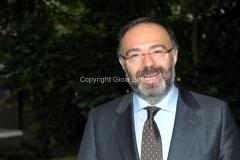 07/11/2013 Roma presentazione del programma rai IL TEMPO E LA STORIA, nella foto : Massimo Bernardini