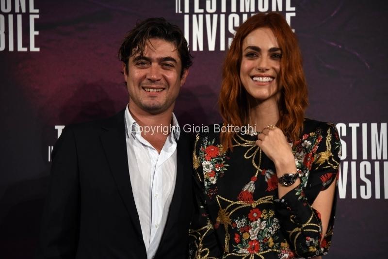 """Foto/IPP/Gioia Botteghi Roma06/12/2018 Presentazione del film """"Il testimone invisibile"""" nella foto: Miriam Leone, Riccardo Scamarcio Italy Photo Press - World Copyright"""
